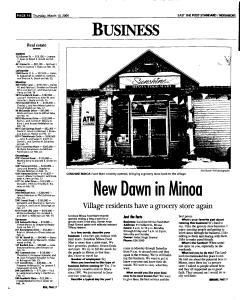 Syracuse Post Standard, March 10, 2005, Page 52