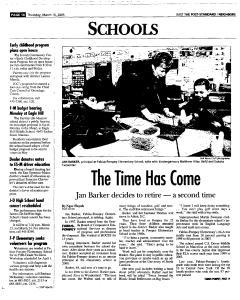 Syracuse Post Standard, March 10, 2005, Page 54