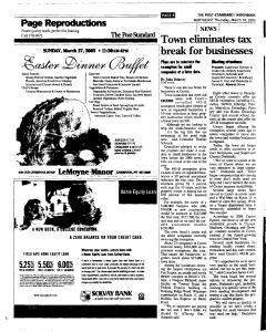 Syracuse Post Standard, March 10, 2005, Page 80