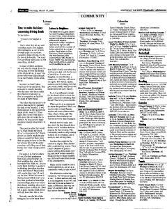 Syracuse Post Standard, March 10, 2005, Page 106