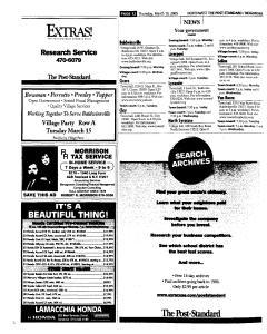 Syracuse Post Standard, March 10, 2005, Page 124