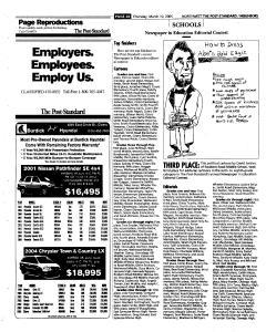 Syracuse Post Standard, March 10, 2005, Page 140