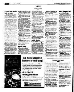 Syracuse Post Standard, March 10, 2005, Page 158
