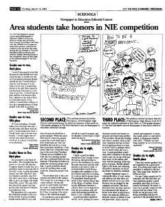 Syracuse Post Standard, March 10, 2005, Page 164