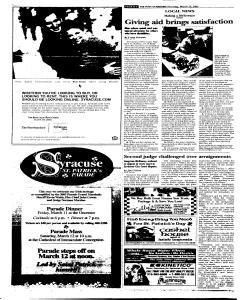 Syracuse Post Standard, March 10, 2005, Page 290