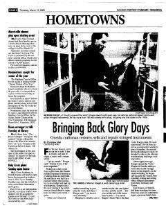 Syracuse Post Standard, March 10, 2005, Page 312
