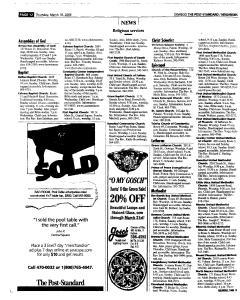 Syracuse Post Standard, March 10, 2005, Page 334
