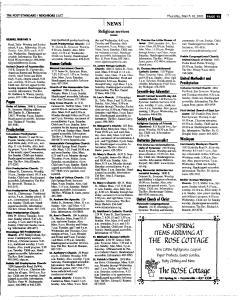 Syracuse Post Standard, March 10, 2005, Page 51