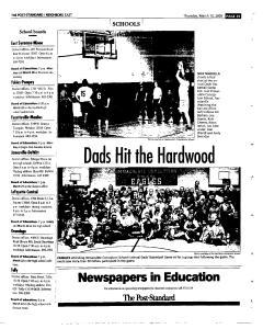Syracuse Post Standard, March 10, 2005, Page 61