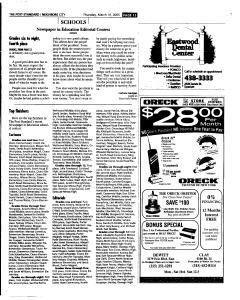 Syracuse Post Standard, March 10, 2005, Page 165