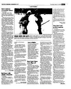 Syracuse Post Standard, March 10, 2005, Page 185