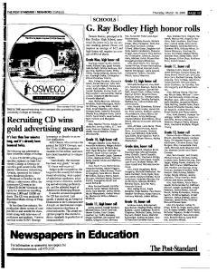 Syracuse Post Standard, March 10, 2005, Page 339