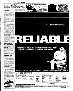 Syracuse Post Standard, March 10, 2005, p. 3