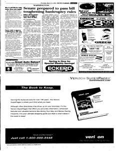 Syracuse Post Standard, March 10, 2005, Page 5