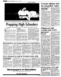 Syracuse Post Standard, March 11, 2005, Page 116