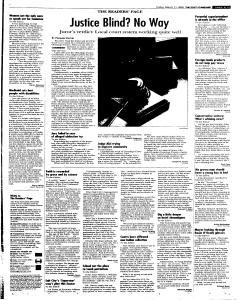 Syracuse Post Standard, March 11, 2005, Page 15
