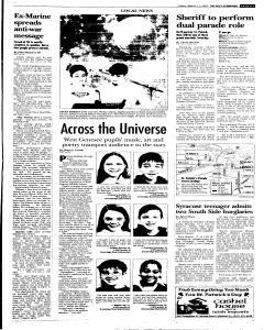 Syracuse Post Standard, March 11, 2005, Page 95