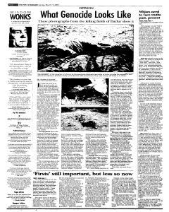 Syracuse Post Standard, March 13, 2005, Page 32
