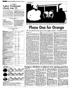 Syracuse Post Standard, March 13, 2005, Page 36