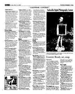 Syracuse Post Standard, March 13, 2005, Page 127