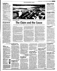 Syracuse Post Standard, March 13, 2005, Page 31