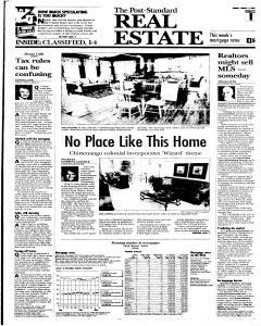 Syracuse Post Standard, March 13, 2005, Page 92