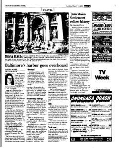 Syracuse Post Standard, March 13, 2005, Page 120