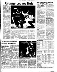 Syracuse Post Standard, March 13, 2005, Page 43