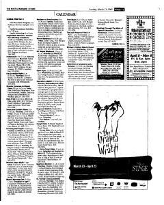 Syracuse Post Standard, March 13, 2005, Page 126