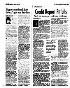 Syracuse Post Standard, March 14, 2005, Page 50