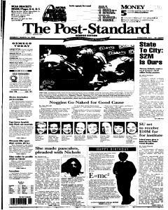 Syracuse Post Standard, March 14, 2005, Page 92