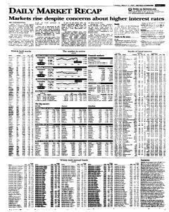 Syracuse Post Standard, March 15, 2005, Page 19