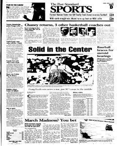 Syracuse Post Standard, March 15, 2005, Page 21