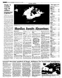 Syracuse Post Standard, March 16, 2005, p. 18