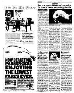 Syracuse Post Standard, March 17, 2005, p. 4