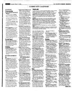 Syracuse Post Standard, March 17, 2005, Page 108