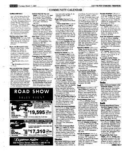 Syracuse Post Standard, March 17, 2005, Page 110