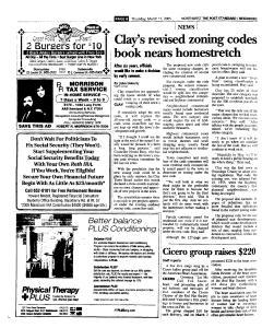 Syracuse Post Standard, March 17, 2005, Page 160