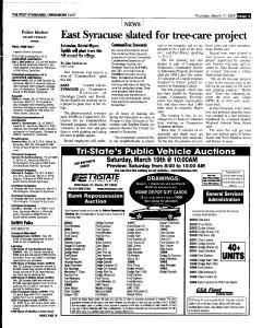 Syracuse Post Standard, March 17, 2005, Page 93