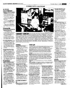 Syracuse Post Standard, March 17, 2005, Page 177