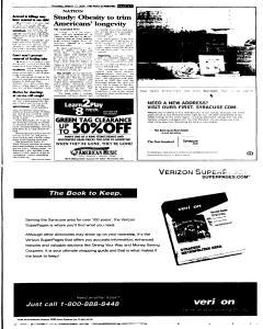 Syracuse Post Standard, March 17, 2005, p. 5