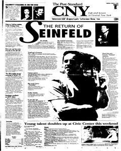 Syracuse Post Standard, March 17, 2005, Page 39