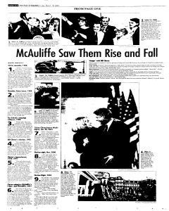 Syracuse Post Standard, March 18, 2005, p. 6