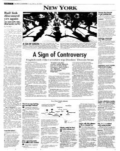 Syracuse Post Standard, March 18, 2005, p. 10