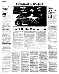Syracuse Post Standard, March 18, 2005, p. 20