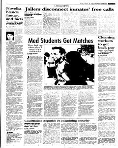 Syracuse Post Standard, March 18, 2005, p. 17