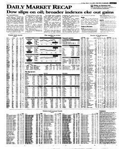 Syracuse Post Standard, March 18, 2005, Page 23