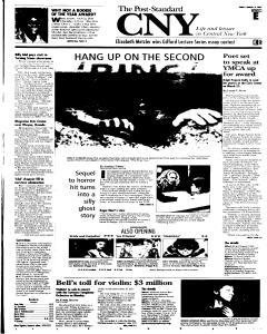 Syracuse Post Standard, March 18, 2005, Page 39
