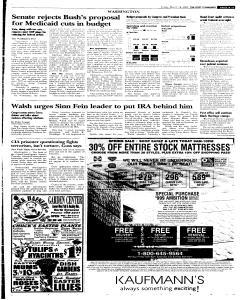 Syracuse Post Standard, March 18, 2005, p. 11