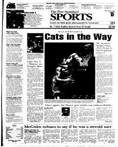 Syracuse Post Standard, March 18, 2005, Page 25